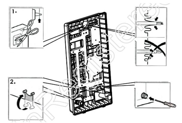 1.进出水管的安装 在热水器出水口请安装适合的控制阀,然后将控制阀进口接入热水器的出水口。请在热水器进水口端垫过滤网防止杂物进入热水器(如水压大于0.6MPa请在进水口加装安全减压阀)。 如出水管直接连接花洒的,请直接将花洒软管接于热水器出水口,接头之间请垫密封圈。 注意:在连接进、出水管时,不要用力太急太猛,以免损坏热水器。 2.源的安装 电源的安装需由专业技术人员或合格电工安装 特别注意: A、进入用户电源的电流容量。 B、电表允许通过的最大电流。 C、开关的额定电流。 D、在安装外部导线时必须在